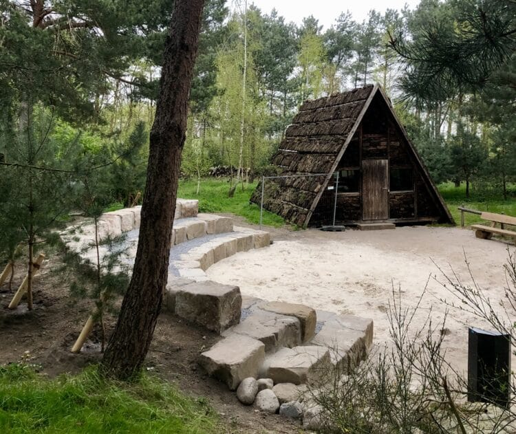 Hier können demnächst auch kleinere kulturelle Veranstaltungen stattfinden. (Foto: Botanischer Garten Rombergpark)