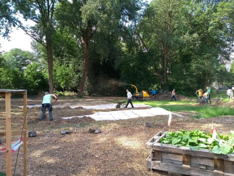 Einige Arbeiten konnten an Fläche der Urbanus-Gemeinde schon erledigt werden. (Foto: Die Urbanisten)
