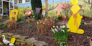 1. Platz – Frühlingsgarten des Offenen Ganztags Grundschule Bodelschwingh (Fotos: Quartiersmanagement Westerfilde & Bodelschwingh)