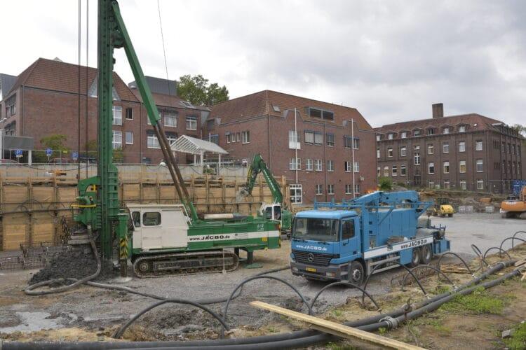 Noch wird fleißig gebaut am Kath. Krankenhaus Dortmund-West. (Archivfoto: Wir in Dortmund)