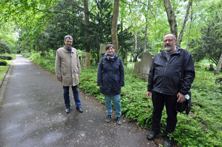 (v. l.) Dr. Stefan Mühlhofer, Christina Steuer und Klaus Winter (Foto: Stadt Dortmund/Kador)