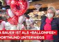 """""""Eine Fee wollte ich schon immer sein"""" – Rita Bauer betreibt als """"Ballonfee"""" einen Ballon-Lieferservice"""