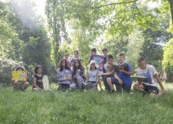 """Auch der Sommerleseclub  legt wieder los – also auf zur Bibliothek, um sich für die Ferien zu """"wappnen"""". (Foto: Wir in Dortmund)"""