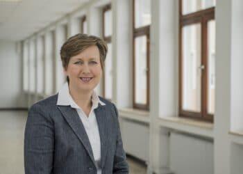 Prof. Dr. Tamara Appel, Prorektorin für Lehre und Studium an der FH Dortmund. (Foto: FH Dortmund/Matthias Kleinen)