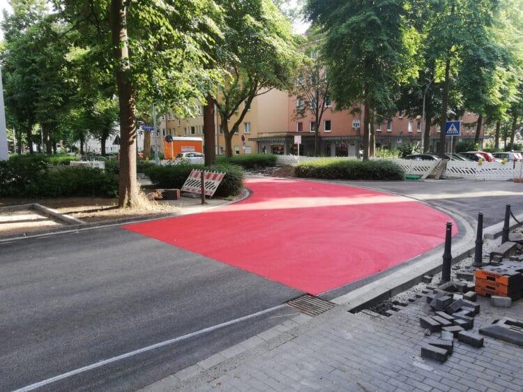 Das Teilstück vor der Freigabe. (Fotos: Stadt Dortmund)