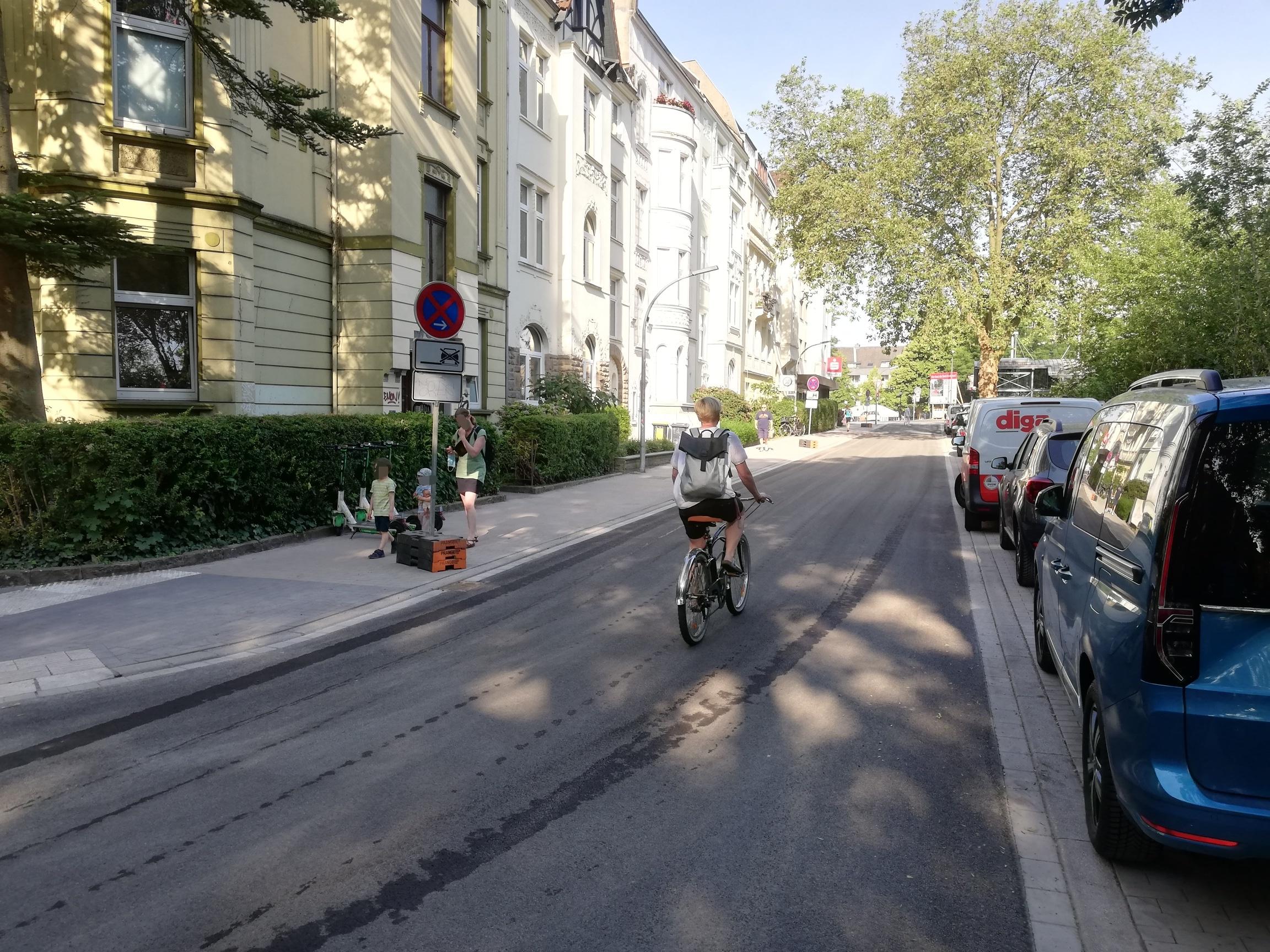Radschnellweg Ruhr (RS1) – Freigabe erster Teilabschnitte im Kreuzviertel – Markierungen und Beschilderung folgen