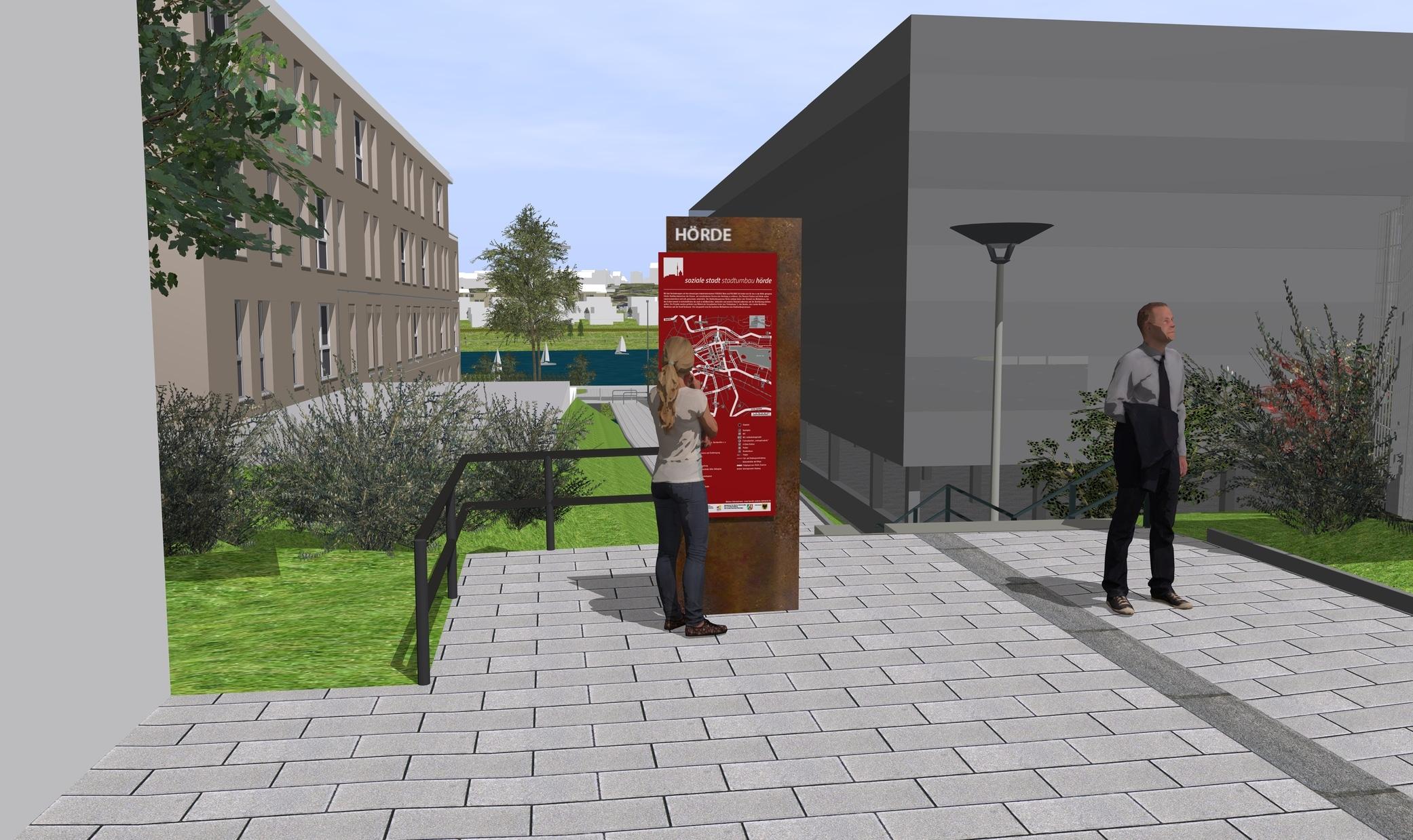 Stadterneuerung Hörde: Online-Beteiligung zum Umbau der Keltenstraße an der östlichen Hermannstraße gestartet