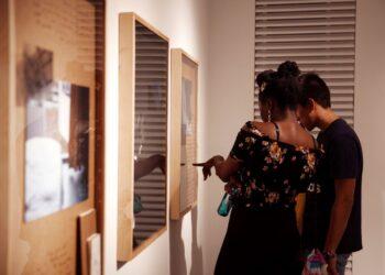 Ausstellung von Emerging Artists in 2019 (Foto: Karol Pryk)