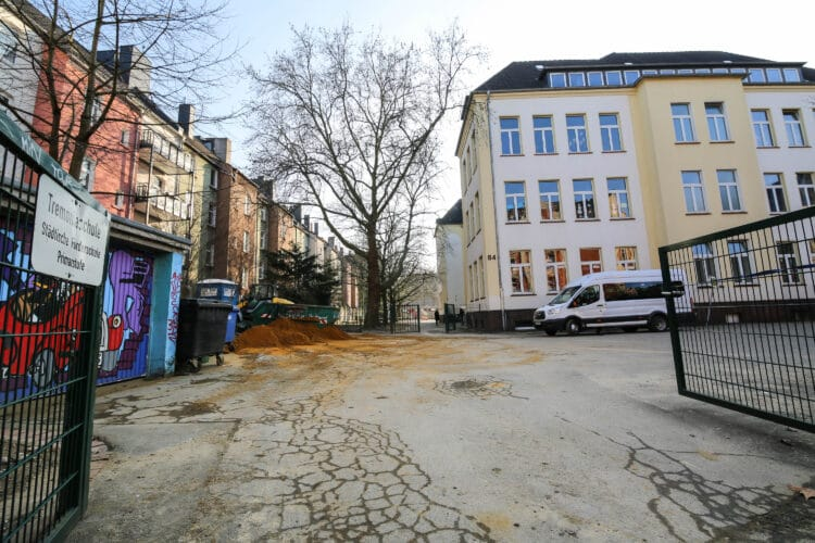 Die ehemalige Tremonia-Schule wird Interimsquartier. (Archivfoto: Oliver Schaper/Wir in Dortmund)