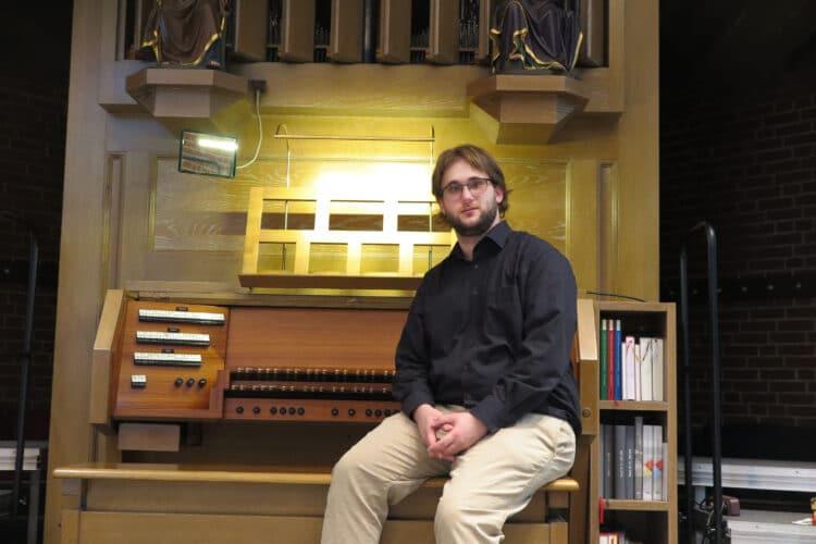 Der neue Kirchenmusiker Christopher Bönninghoff hat seine Stelle angetreten. (Foto: Wir in Dortmund)