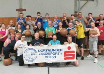 Ein Teil der Freizeitsportler des DBS 20/50. (Foto: DBS 20/50)