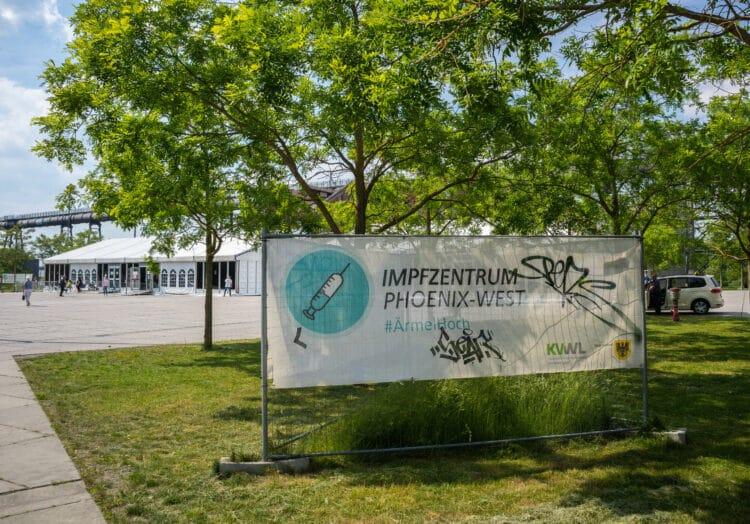 Auch die Öffnungszeiten des Impfzentrums wurden angepasst. (Foto: Wir in Dortmund)