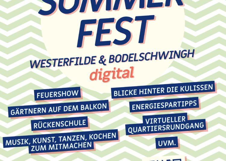 Westerfilde & Bodelschwingh feiert digitales Sommerfest