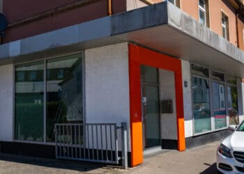 Die ehemalige Volksbank-Filiale an der Westerfilder Straße 52 wird bereits für eine anderweitige Nutzung renoviert. (Foto: Wir in Dortmund)