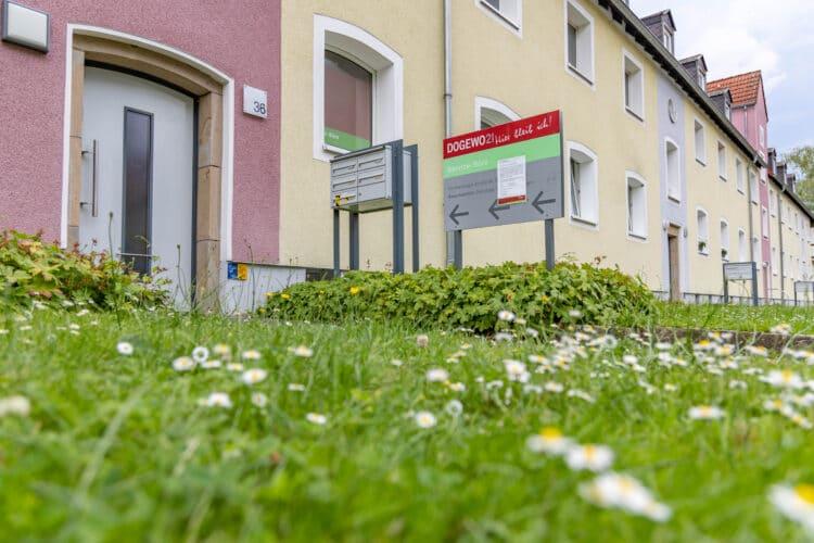 Statt eines Servicebüros soll es hier bald eine neue Wohnung geben. (Foto: Wir in Dortmund)