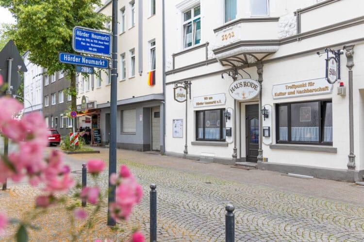 Die Indoor-Veranstaltungen von Wir am Hörder Neumarkt e. V. finden in der Regel in Haus Rode statt. (Fotos: Wir in Dortmund)