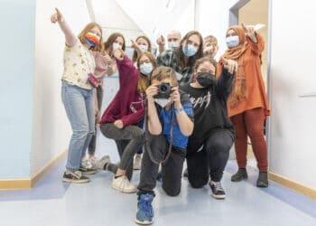 Beim sich über mehrere Tage erstreckenden Film-Workshop ersrbeiteten die Kinder und Jugendlichen selbst das Konzept für einen Kurzfilm. (Fotos: Wir in Dortmund)