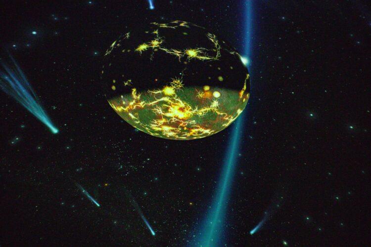 Wie in einem richtigen Planetarium entsteht mit einem dreidimensional wirkenden 360-Grad-Bild der Eindruck einer Reise ins Weltall. (Fotos: Wir in Dortmund)
