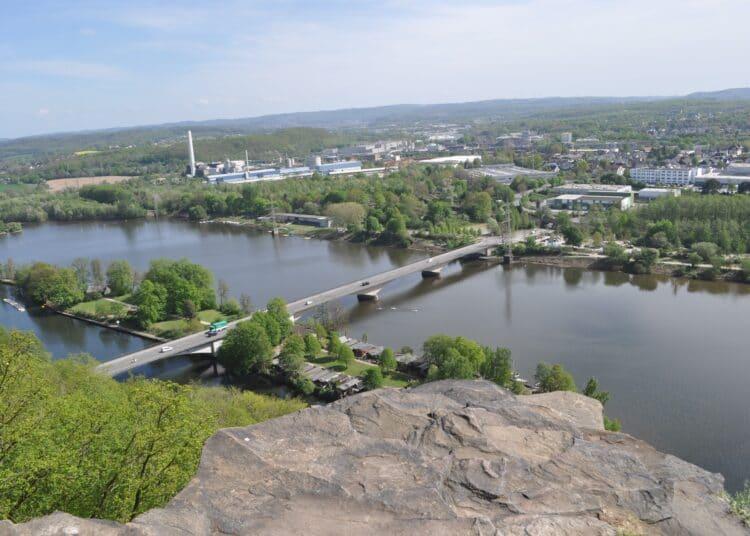 Blick vom Klusenberg zum Hengsteysee. (Foto: Diethelm Textoris)