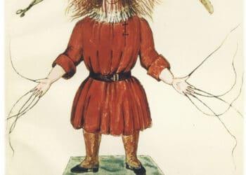 Das Ur-Manuskript des Struwwelpeter. (Foto: Simone Michel-von Dungern)