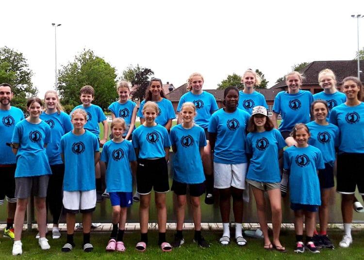 Das Girlscamp wird durch die Sportjugend Dortmund unterstützt. (Foto: Verein)