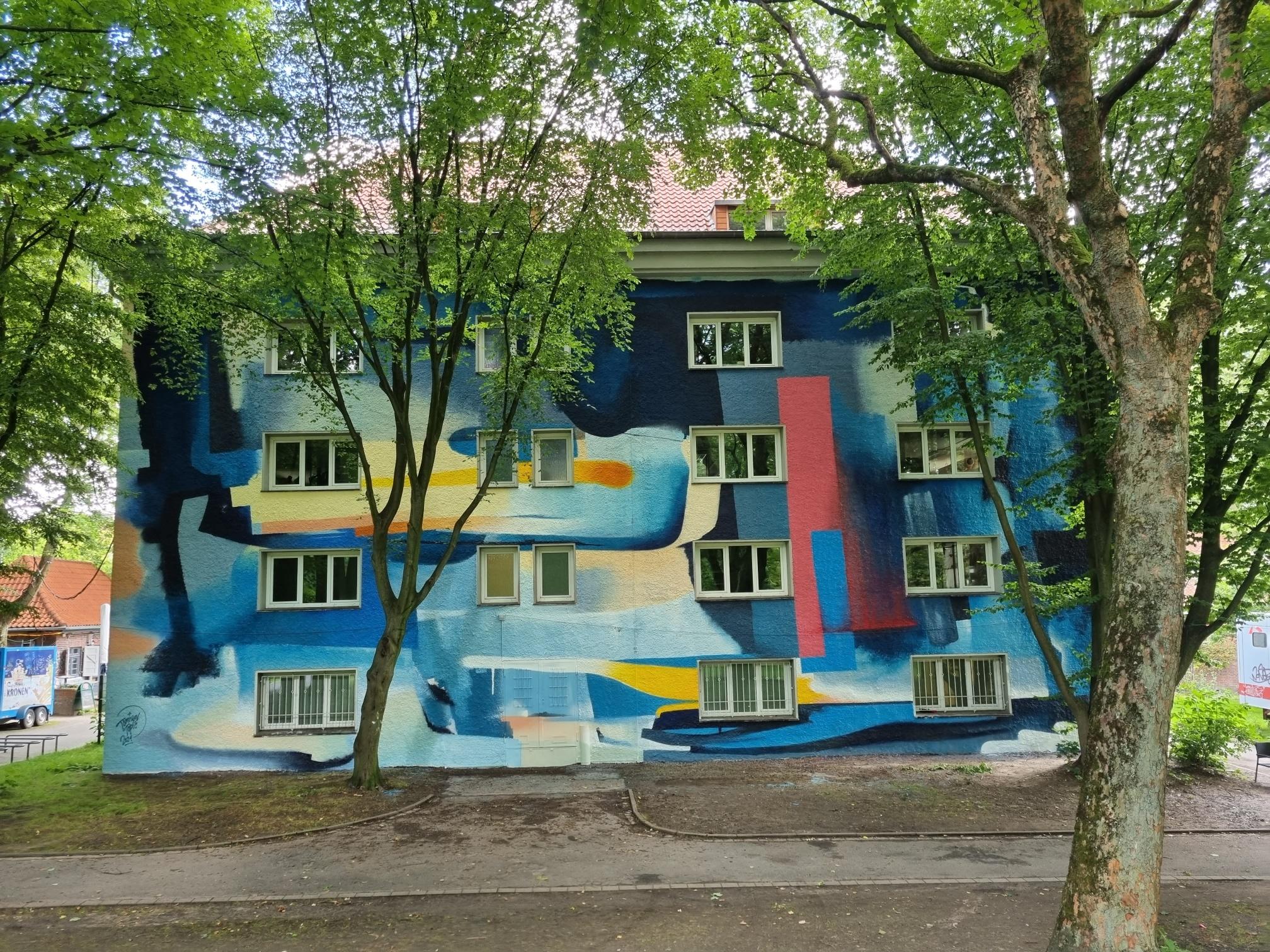 Urban Art am Westpark: Ehemaliges Museum wurde selbst zum Kunstwerk