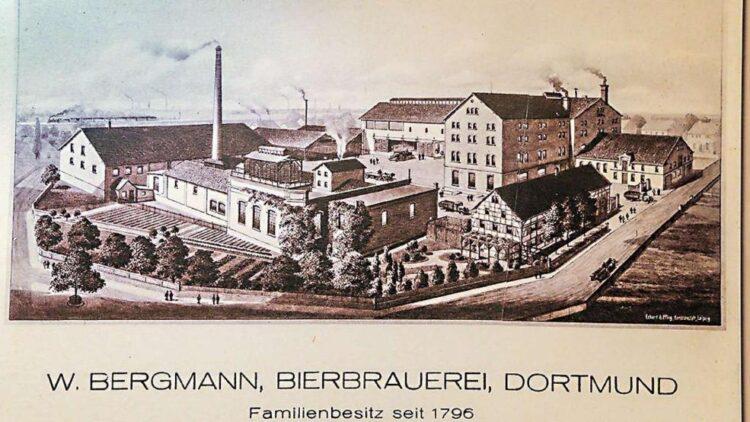 Ansicht der Bergmann-Brauerei um die Jahrhundertwende  (Foto: privat)