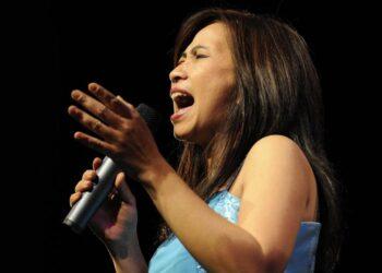 Die Sängerin Dian Pratiwi. (Foto: Kurt Rade)