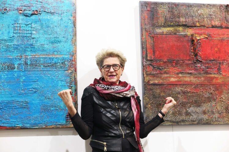 Die Ausstellung der Künstlerin Brigitte Koch wird am Tag des offenen Denkmals eröffnet. (Foto: Wir in Dortmund)