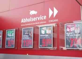 REWE Amshove startet mit Abholservice in Rahm