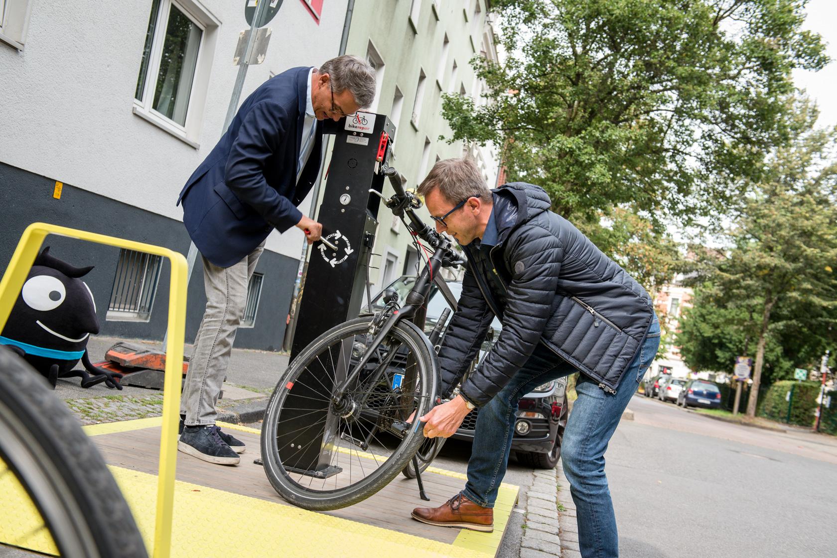 Stadt-Terrassen im Klinikviertel wurden eingeweiht