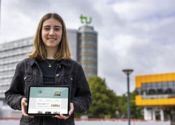 """Jana Konkel hat 3.000 Euro für ihr Projekt """"Lern-Fair"""" gewonnen. (Foto: WIR IN DORTMUND)"""