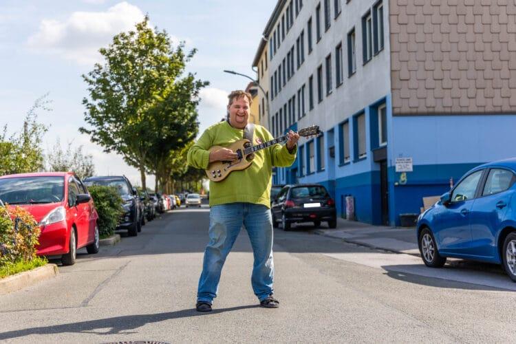 Marco Rudolph tritt beim Festival sowohl als Veranstalter als auch als Musiker auf. (Foto: Wir in Dortmund)