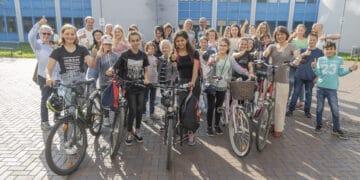 """Das BBG schickt fast 100 """"Stadtradler"""" ins Rennen (Foto: Wir in Dortmund)"""
