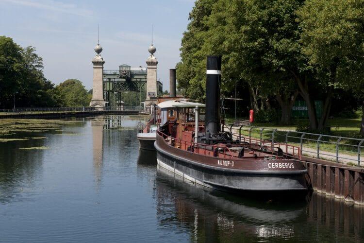 Der Dampfer Cerberus darf am Sonntag ausnahmsweise betreten werden. (Foto: LWL/Hudemann)
