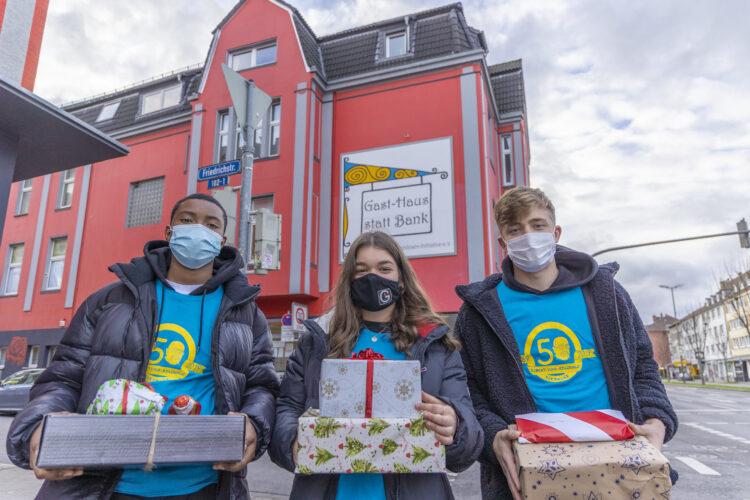 Bereits zu Weihnachten sammelten die Jugendlichen Sachspenden. (Archivfoto: Wir in Dortmund)