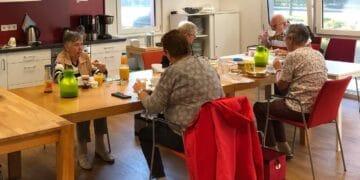 Auch das Frühstück in der Nachbarschaftsagentur Mengede konnte erstmals wieder stattfinden. (Foto: DOGEWO21)