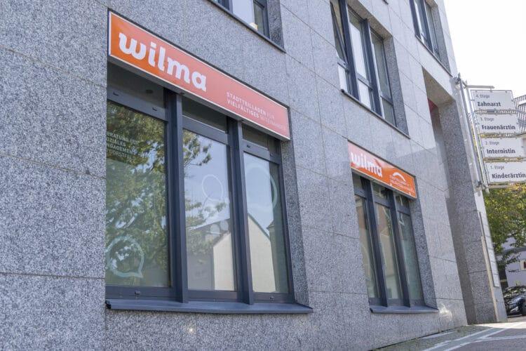"""""""Wilma"""" ist nicht der Name der Kneipenwirtin, sondern ortsbezogen zu verstehen – und steht (mit ein bisschen Fantasie) als Abkürzung für """"Wir leben miteinander"""". (Fotos: Wir in Dortmund)"""