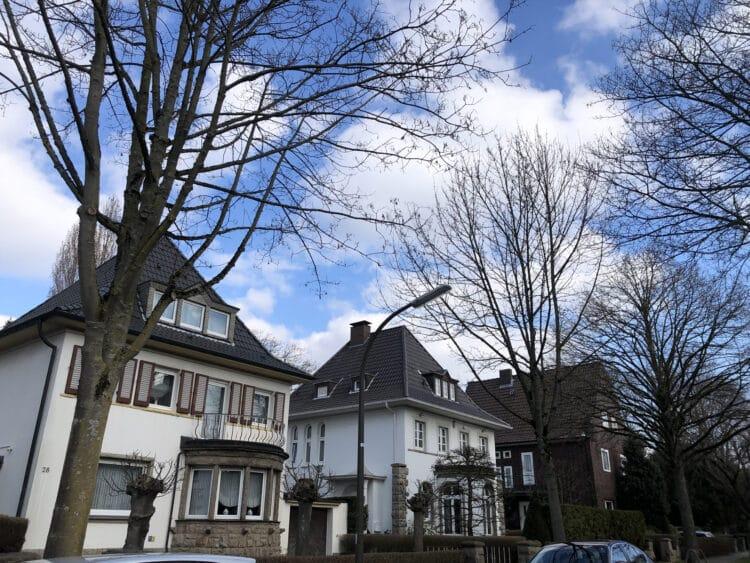 Die Freiligrathstraße in der Gartenstadt. (Archivfoto: Katrin Pinetzki, Stadt Dortmund)