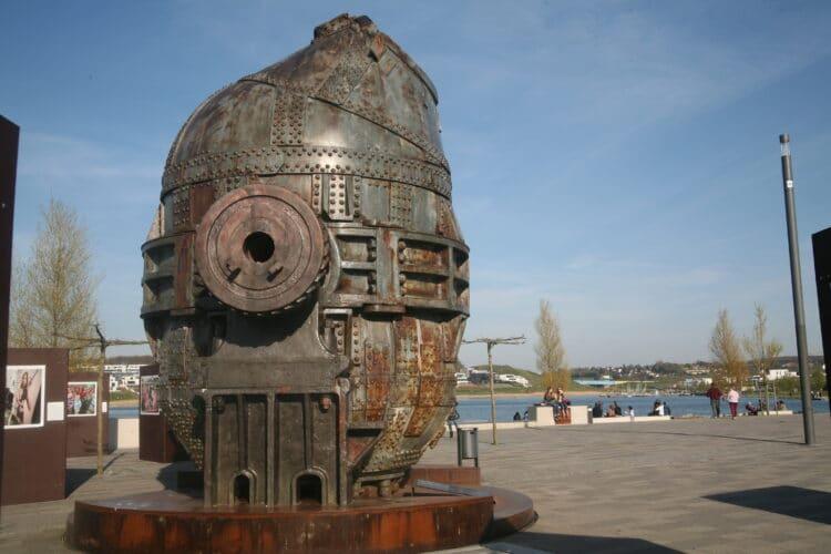 """Auch die """"Thomasbirne"""" auf der Kulturinsel am Phoenix See ist ein Ziel der Tour. (Archivfoto: Wir in Dortmund)"""
