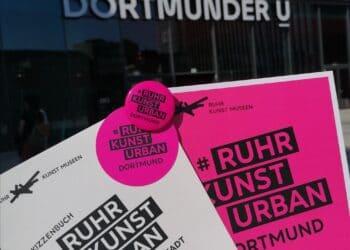 """Materialien zum Projekt """"RuhrKunstUrban – Museum findet Stadt – Mit allen Sinnen"""". (Foto: MO Dortmund)"""