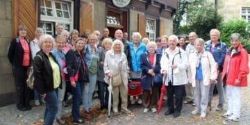Die Teilnehmer*innen freuten sich über ihren ersten Ausflug nach langer Pause. (Foto: SGV)