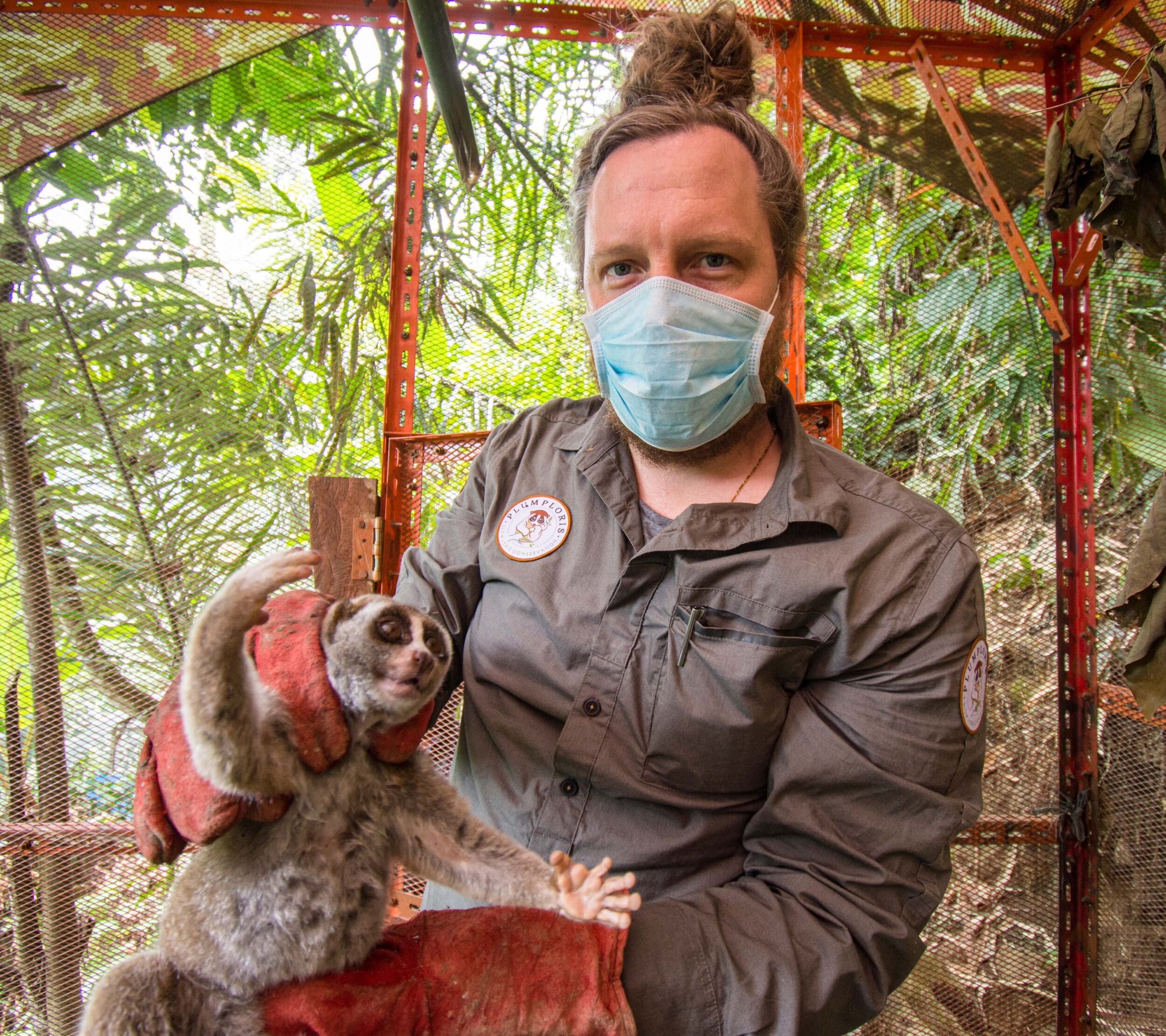 Artenschutz: Neues Plumplori-Schutzprojekt im Zoo Dortmund