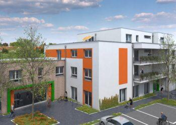 So soll Huckardes Gesundheitshaus nach der Fertigstellung aussehen. (Foto: BAOWAG GmbH)