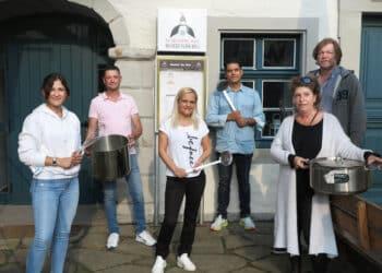 (v. l.) Natalia Warsztocka, Olaf Tkotz, Diana Roski, Omid Aminian, Jörg Wiedelmann und Heike Koch sind Gründungsmitglieder. (Foto: Wir in Dortmund)