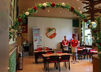 """Die Türen des Trommlerkorps """"Gut Klang"""" 1919 e. V. Dortmund-Kirchlinde sind für junge und alte Musikfreunde immer gerne geöffnet. Alle Vereinsmitglieder und Gäste können sich nun an dem frisch renovierten Klubraum erfreuen. (Fotos: privat)"""